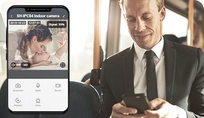 Deltaco smarta nätverkskameror