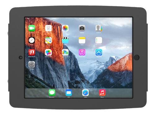 "Maclocks iPad Pro 10.5"" Secure Space Enclosure Wall Mount, svart"