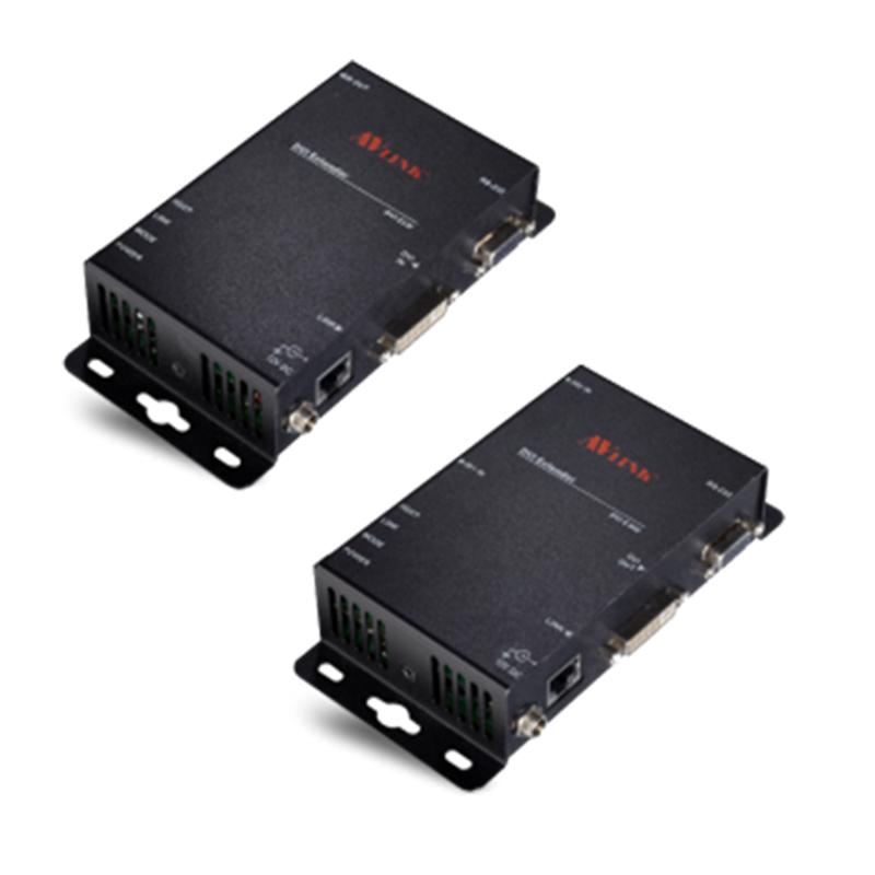 AV Link DVI-förlängare, Ethernet, Full HD, Cat5, 100m