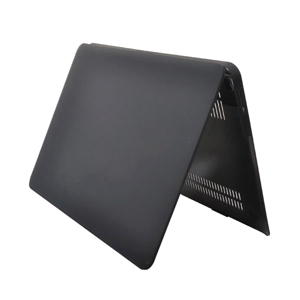 Genomskinligt skal till MacBook Air 13, svart