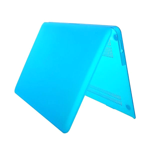 Genomskinligt skal till MacBook Air 13, blå