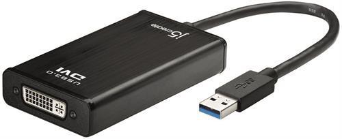 j5create USB 3.0 till DVI-adapter, extra grafikkort