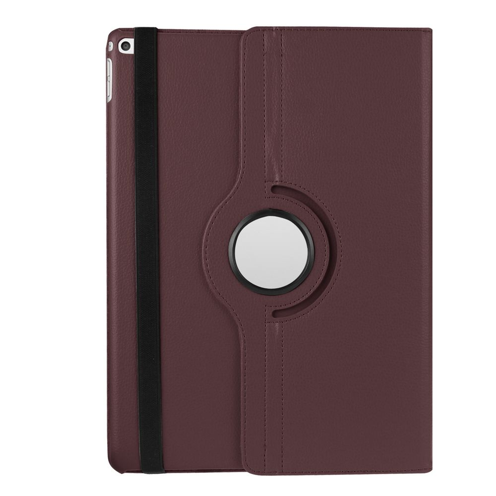 Läderfodral med roterbart ställ brun, iPad Pro 12.9