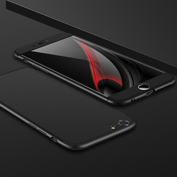 3-delat skal till iPhone 6/6S, svart