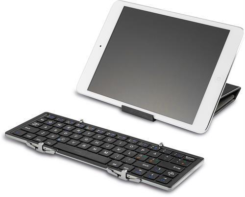 Deltaco hopfällbart Bluetooth tangentbord