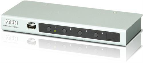 ATEN VS481B HDMI-switch med 4 portar, silver