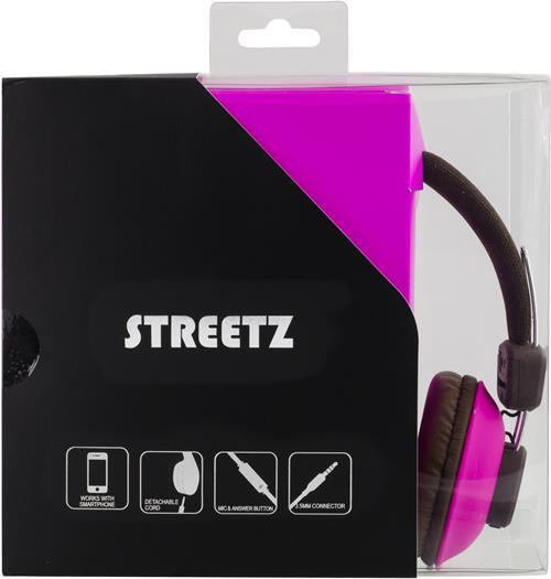 Streetz hörlurar med mikrofon och trasselfri 1 84913e0730829