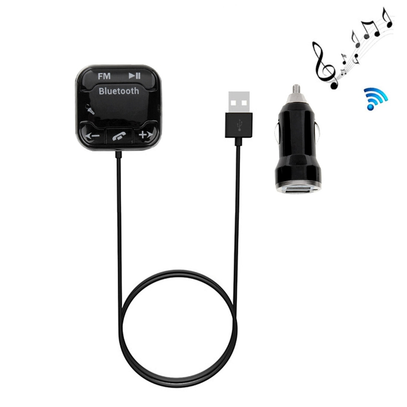 Omtyckta Portabel FM-sändare med Bluetooth 4.0, microSD, magnetfäste BA-95