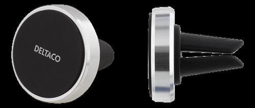 Deltaco magnetisk bilhållare för ventilationsgaller