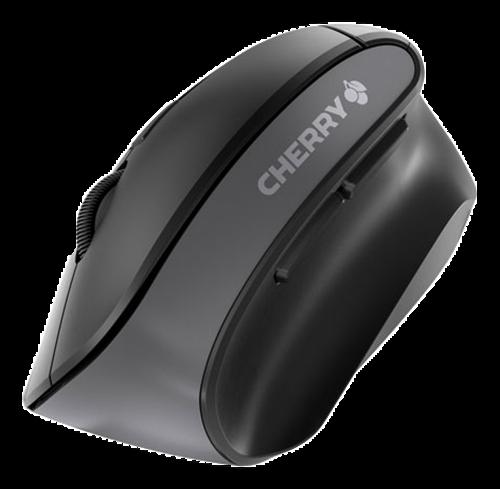Cherry MW 4500 Ergonomisk trådlös mus, svart