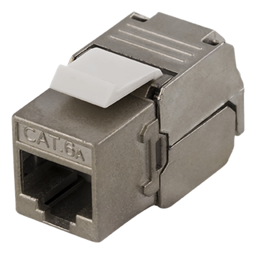 Deltaco FTP Cat6a Keystone kontaktdon,