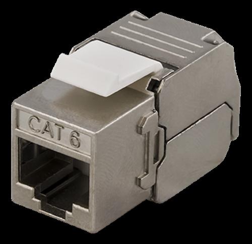 Deltaco FTP Cat6 Keystone kontaktdon,