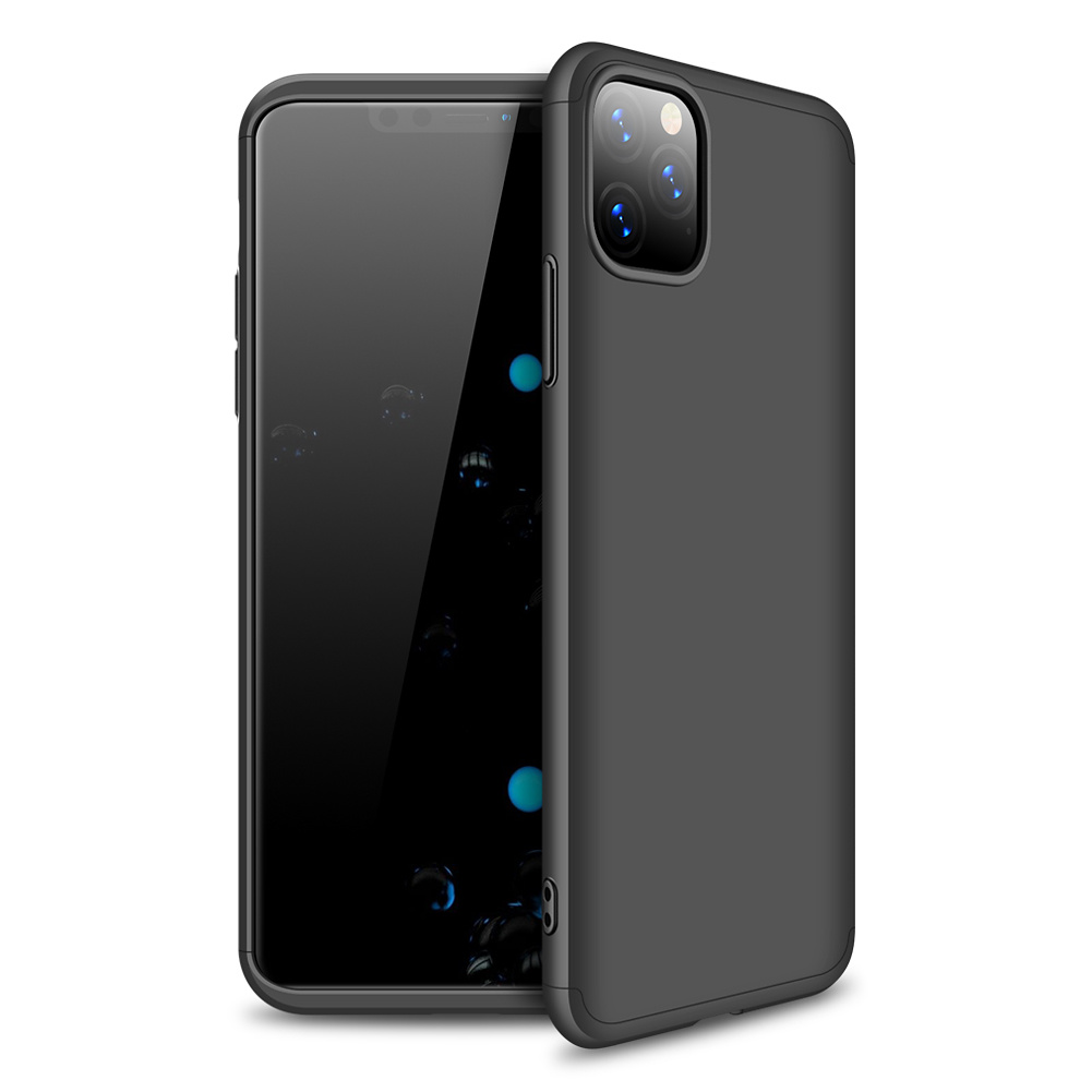 3-delat skal till iPhone 11 Pro, svart