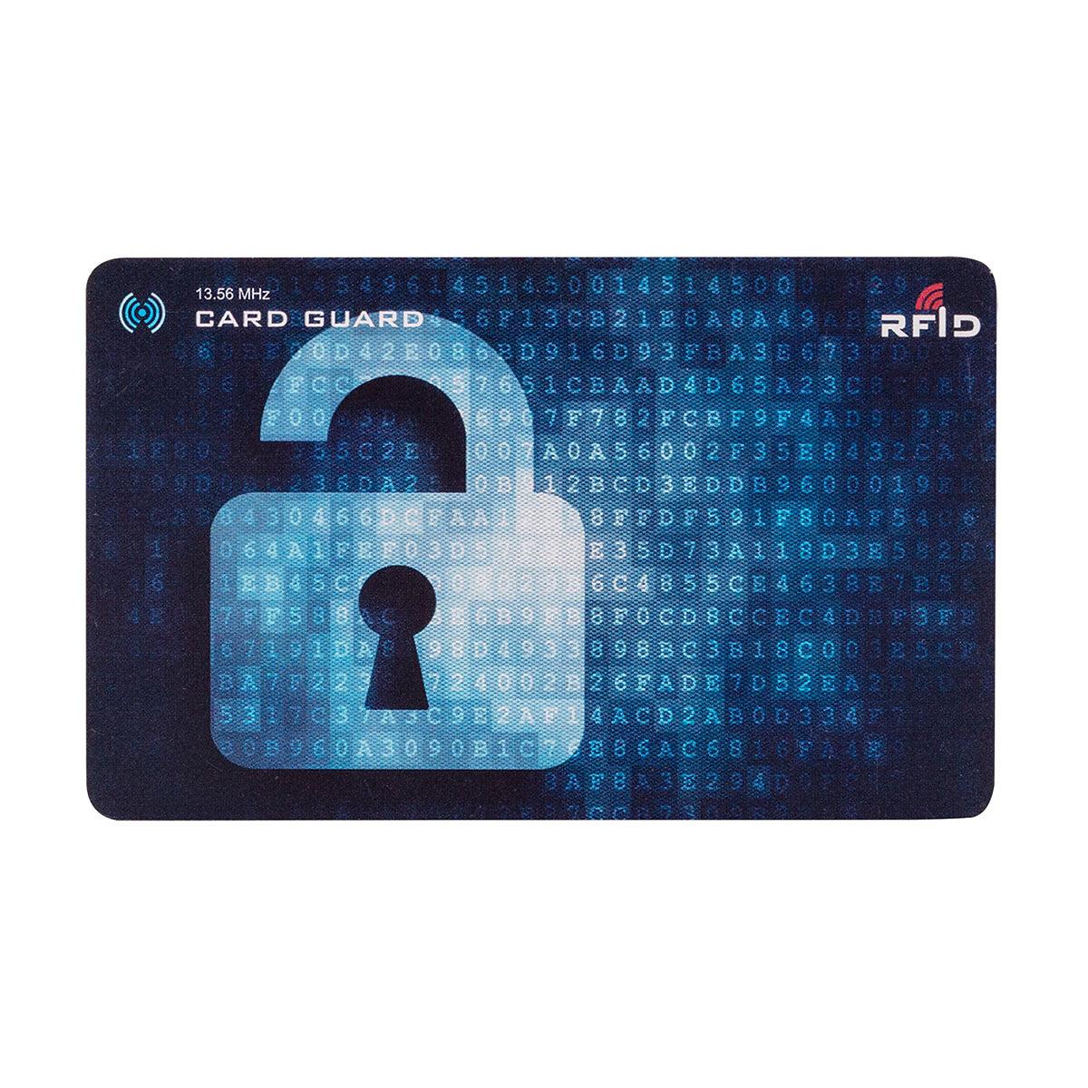 3-pack RFID-kort för skydd mot skimmare och hackare