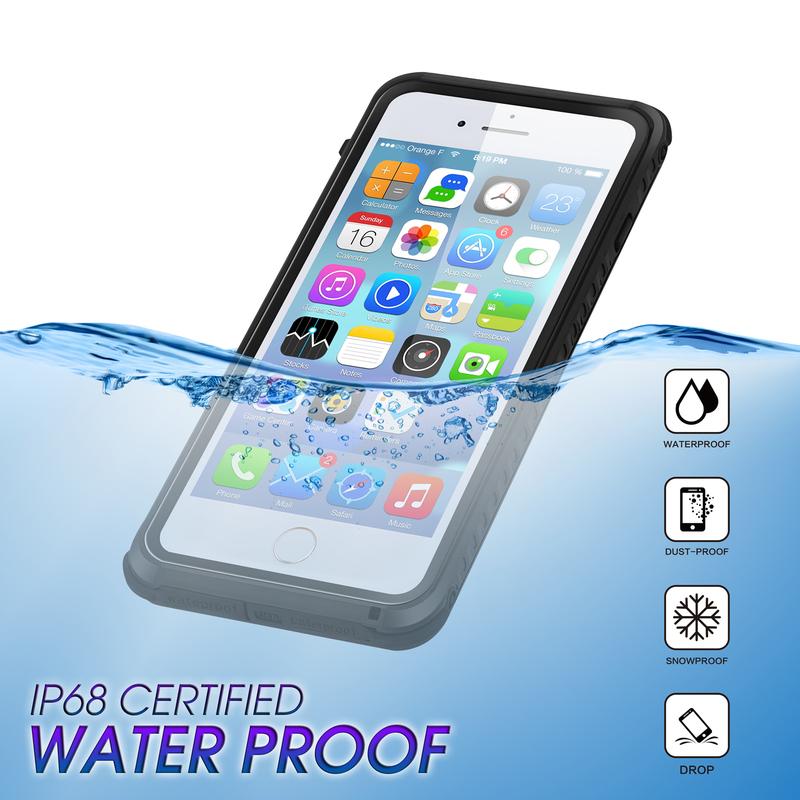 Vattentätt TPU skal till iPhone 6 Plus 6bf72052a4c48