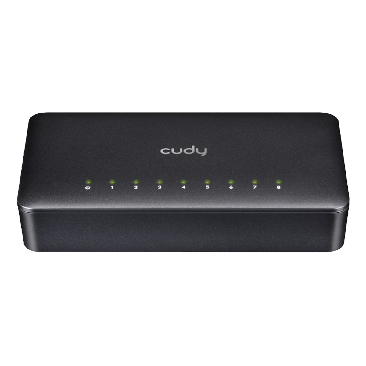 Cudy Multiport-switch med 8 portar, 10/100Mbps