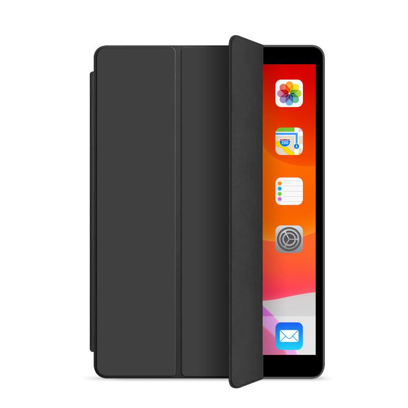 Läderfodral med ställ till iPad Pro 12.9 (2020), svart