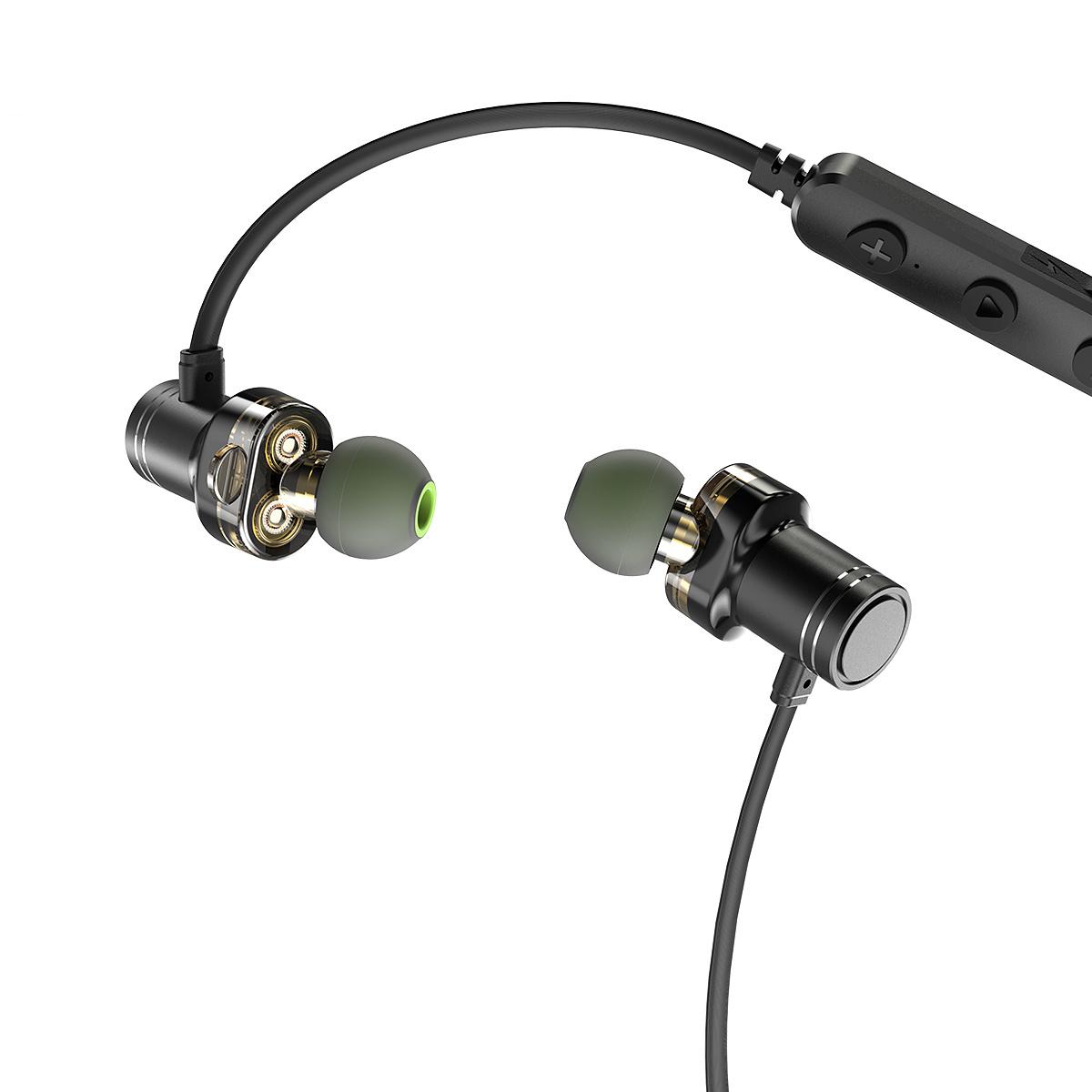 AWEI X670BL Vattentäta In-Ear hörlurar Bluetooth 4.2
