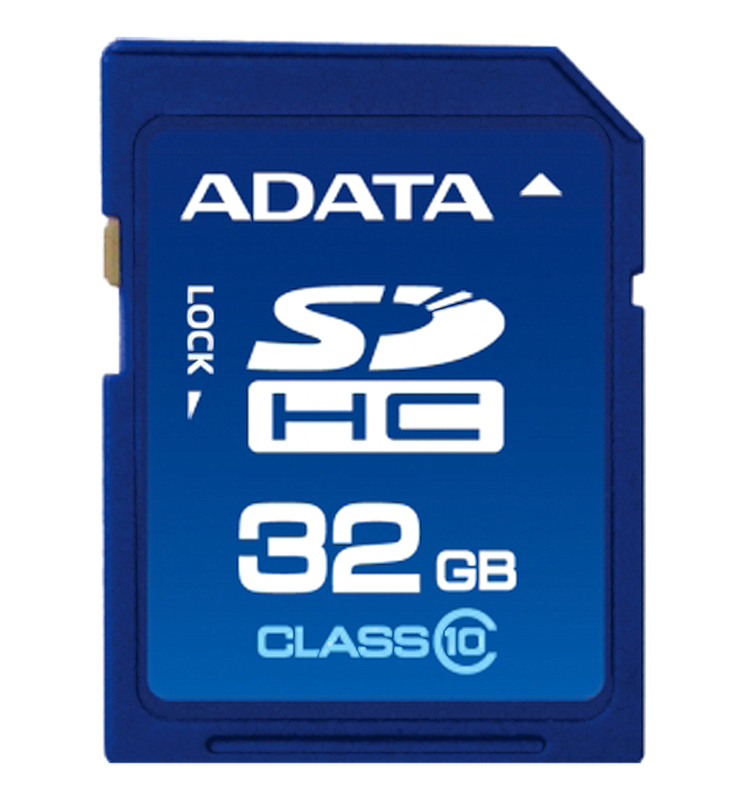 Adata SDHC Klass 10, 32GB