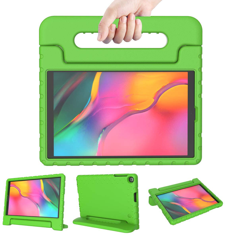 Barnfodral, Samsung Galaxy Tab A 10.1 (2019) SM-T515, grön