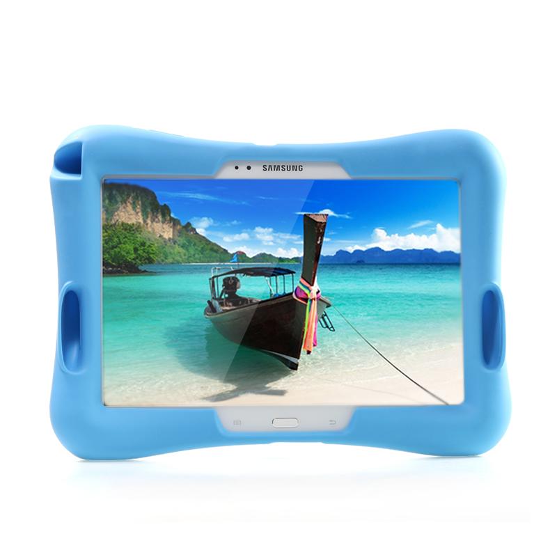 Barnfodral i silikon för Samsung Galaxy Tab 3 10.1, blå