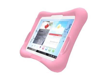 Barnfodral i silikon för Samsung Galaxy Tab A 10.1 (2016), rosa