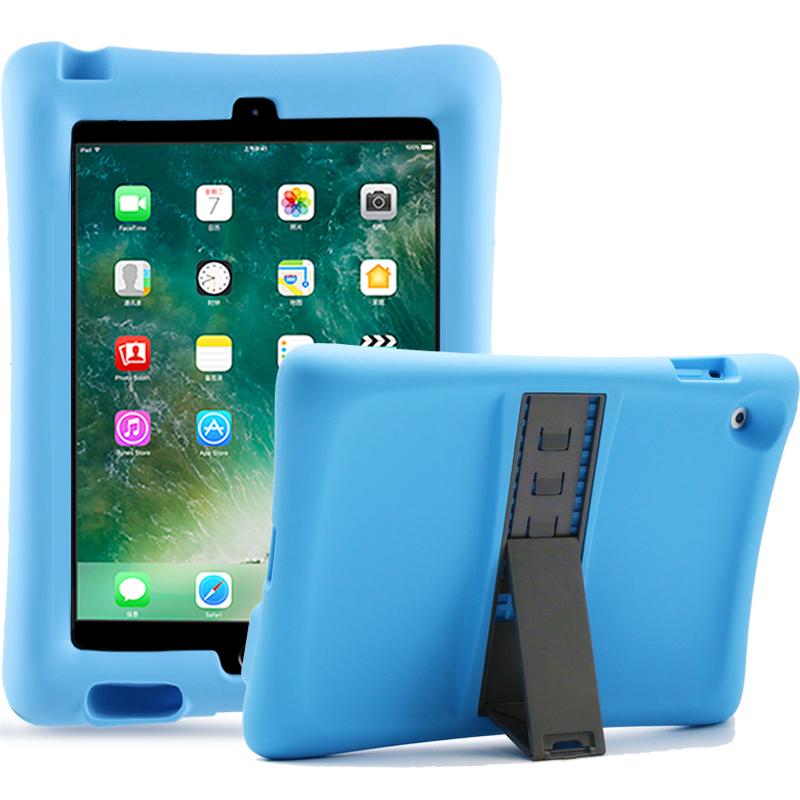 Barnfodral i silikon för iPad 2/3/4, blå