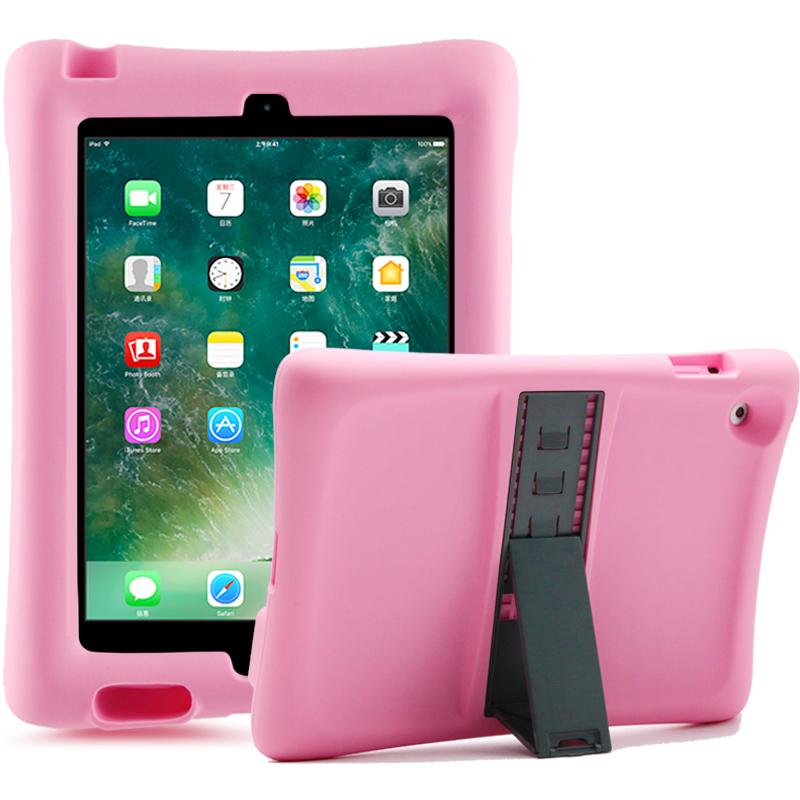 Barnfodral i silikon för iPad 2/3/4, rosa