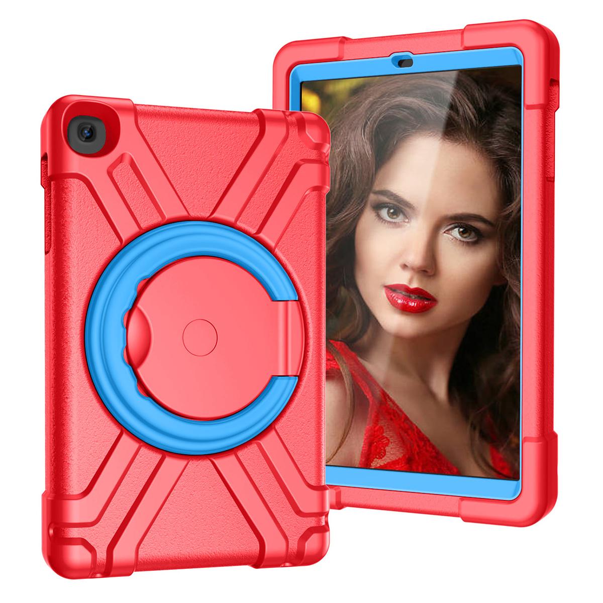 Barnfodral, Samsung Tab A 10.1 (2019), röd/blå