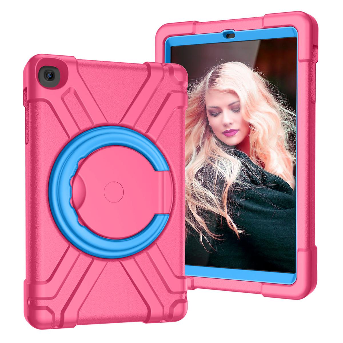 Barnfodral, Samsung Tab A 10.1 (2019), rosa/blå