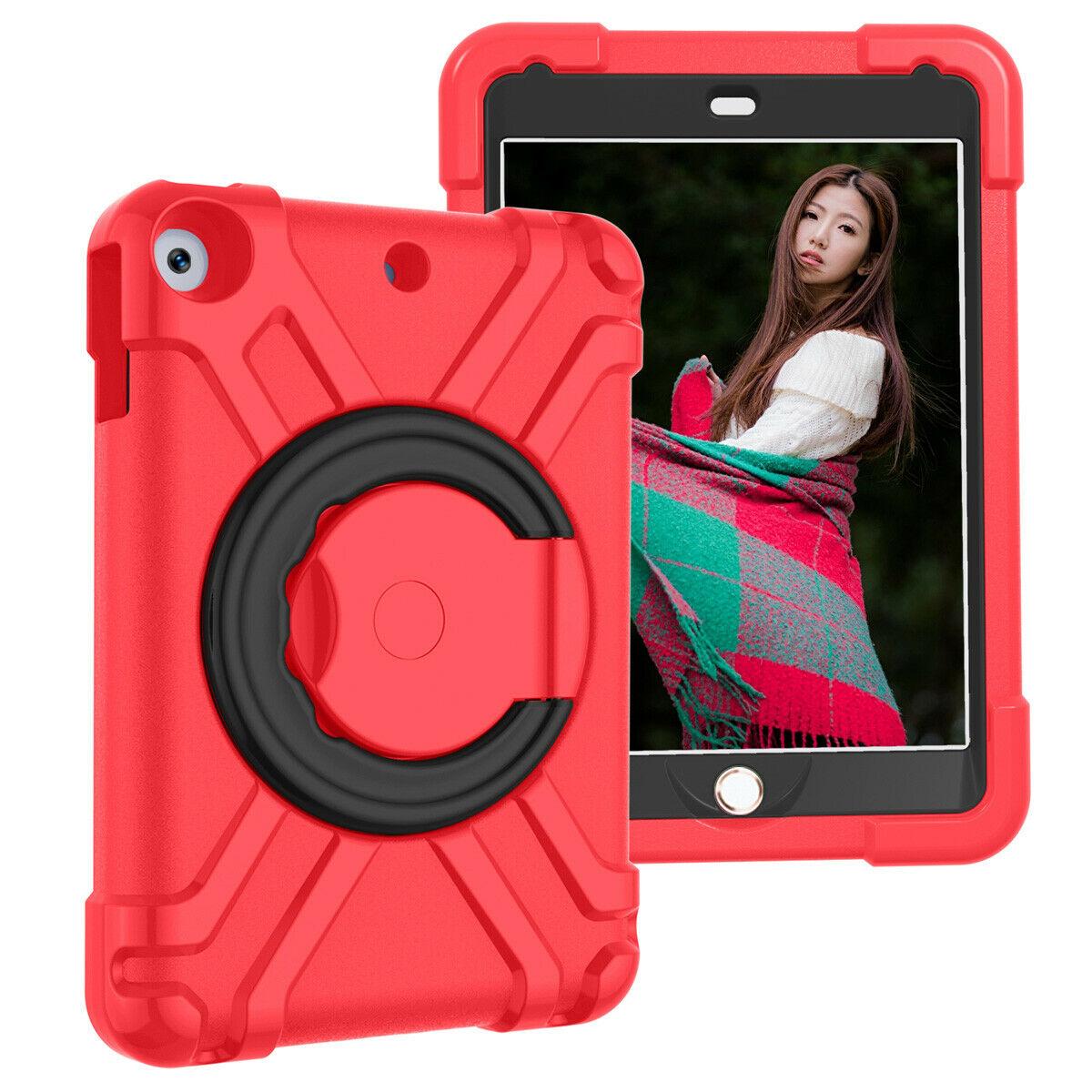 Barnfodral roterbart ställ, 10.2/10.5 iPad Air 3, svart/röd