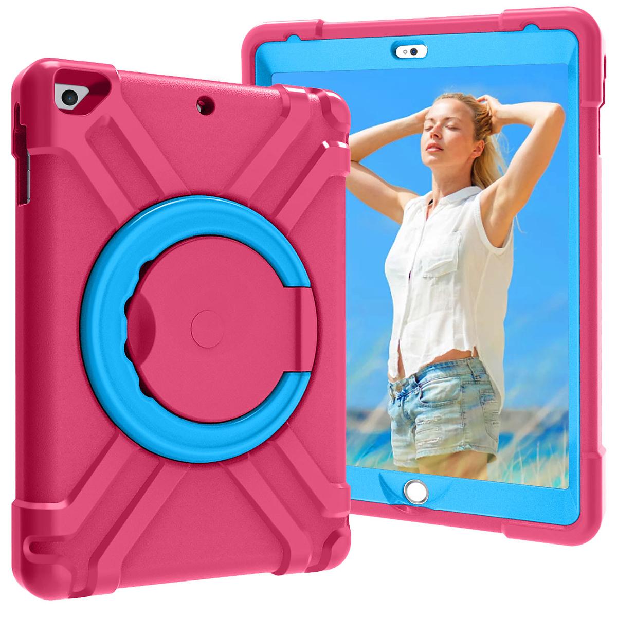 Barnfodral med ställ iPad 9.7, Air/Air2, Pro 9.7, rosa/blå