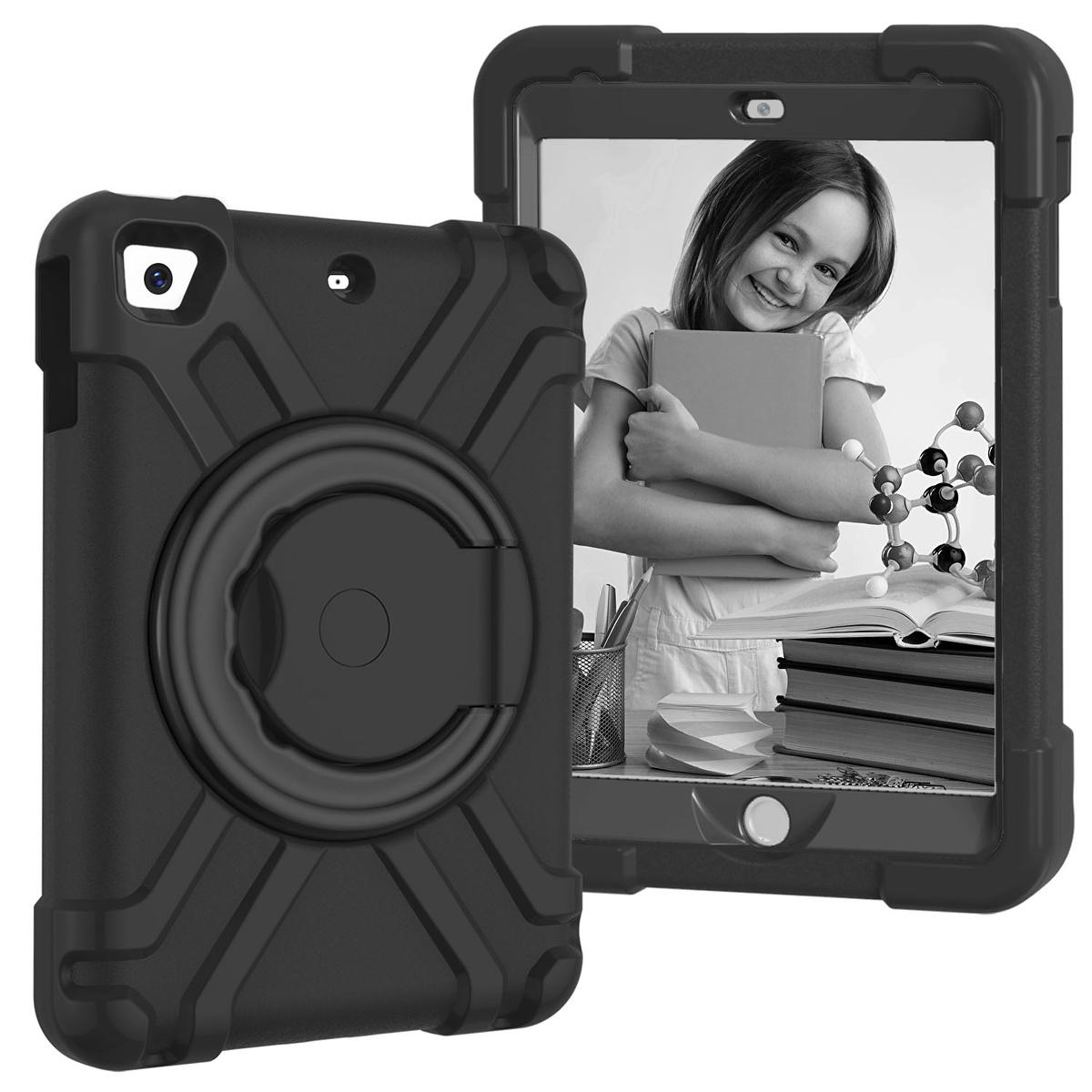 Barnfodral med roterbart ställ, iPad Mini 1/2/3, svart
