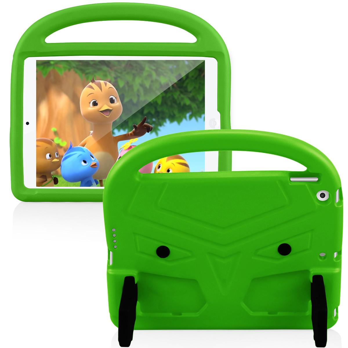 Barnfodral med ställ, iPad 10.2/10.5 iPad Air 3 (2019), grön