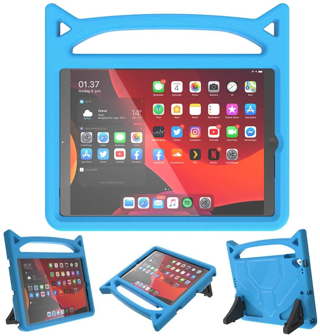 Barnfodral med ställ, iPad 10.2/10.5 (2019-2020), blå