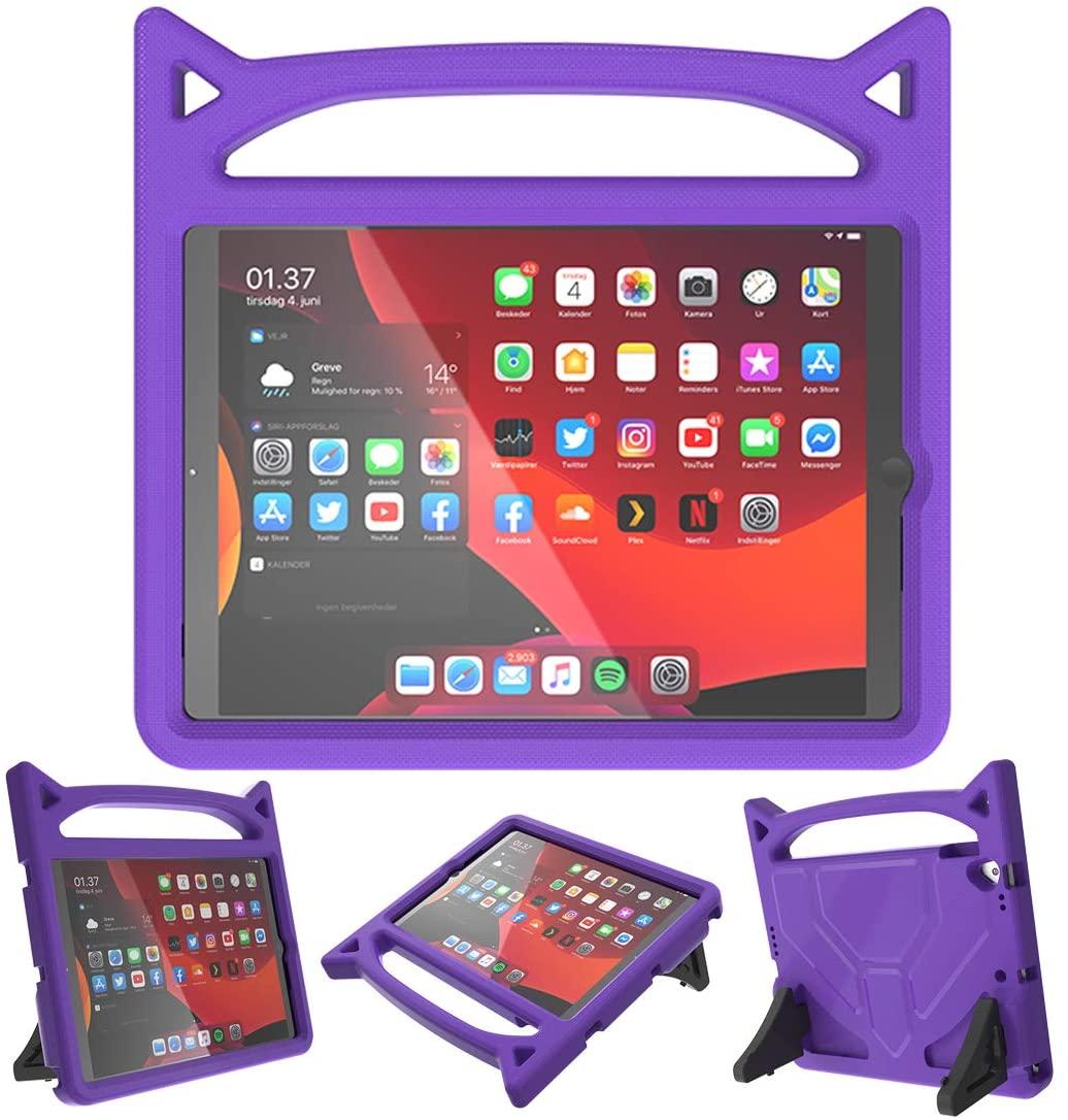 Barnfodral med ställ, iPad 10.2/10.5 (2019-2020), lila
