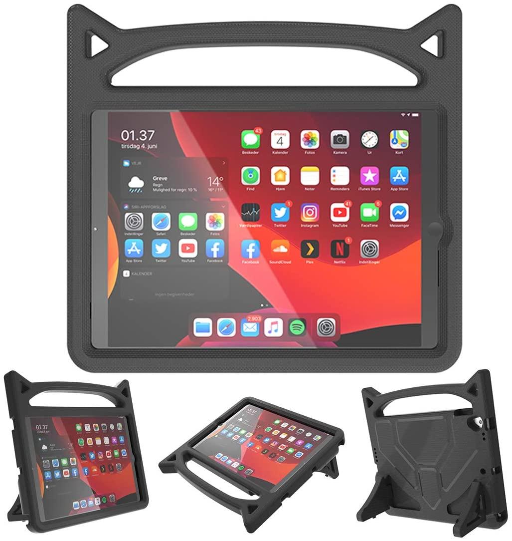 Barnfodral med ställ, iPad 10.2/10.5 (2019-2020), svart