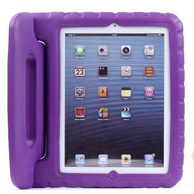 Barnfodral med ställ till iPad 2/3/4, lila