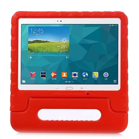 Barnfodral med ställ till Samsung Galaxy Tab S 10.5, röd