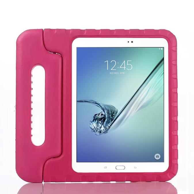 Barnfodral med ställ till Samsung Galaxy Tab S2 9.7, rosa