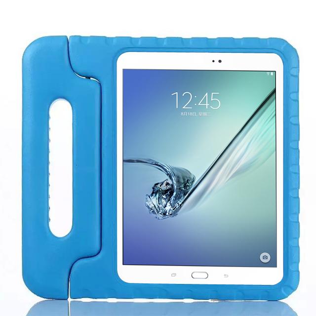 Barnfodral med ställ till Samsung Galaxy Tab S2 9.7, blå