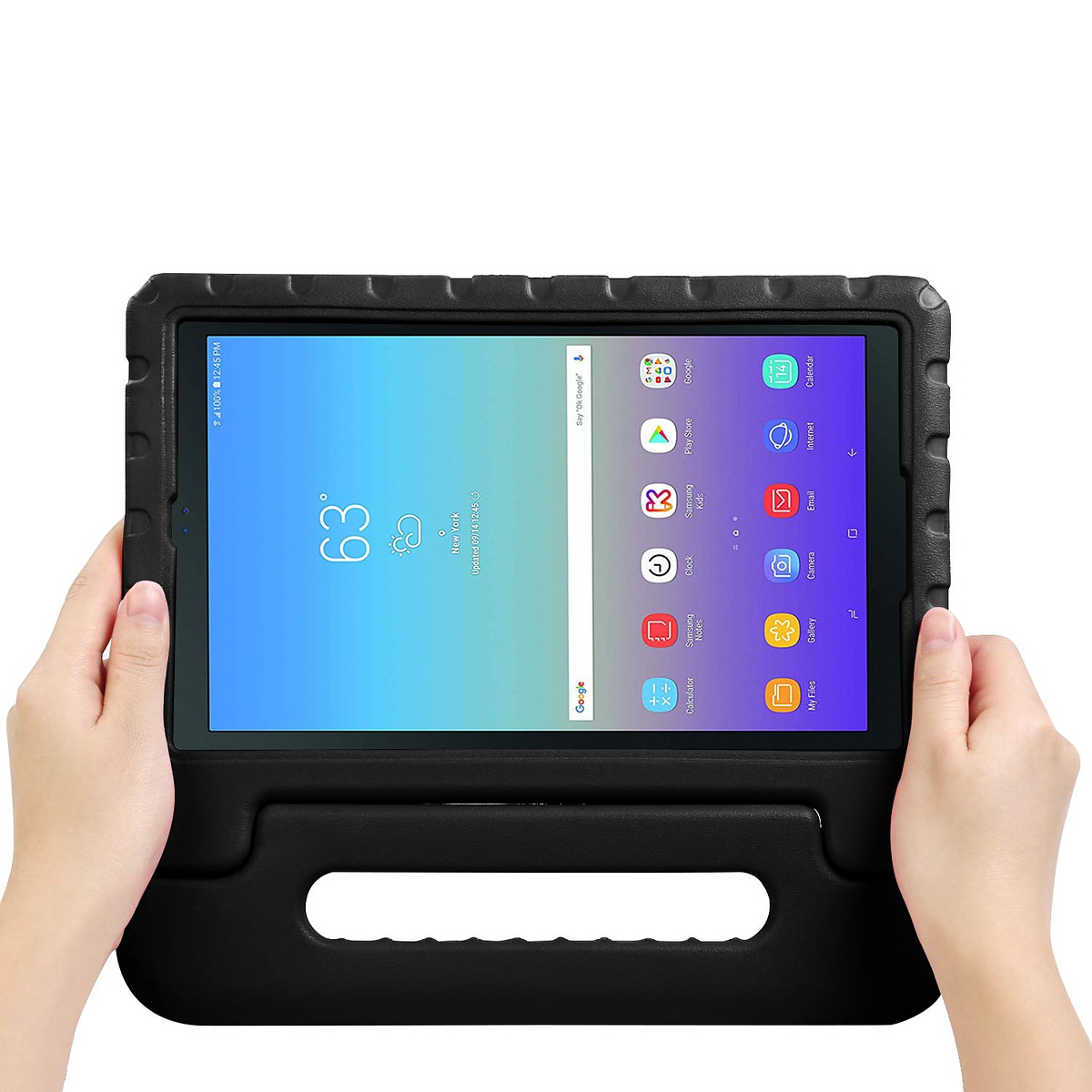 Barnfodral med ställ till Samsung Tab A 10.5, svart