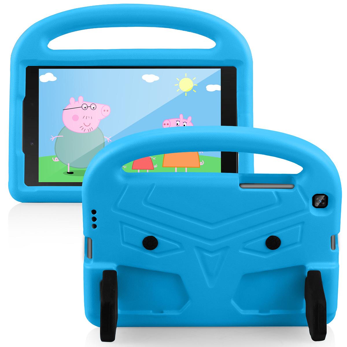 Barnvänligt silikonfodral Galaxy Tab A 8.0 (2019), blå