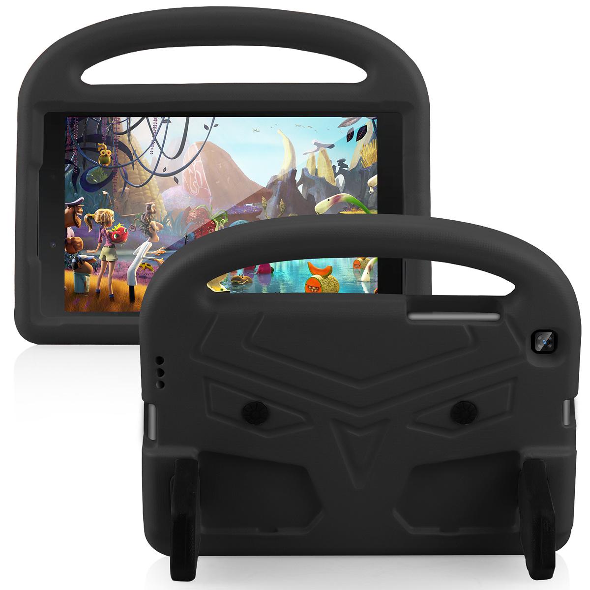 Barnvänligt silikonfodral Galaxy Tab A 8.0 (2019), svart
