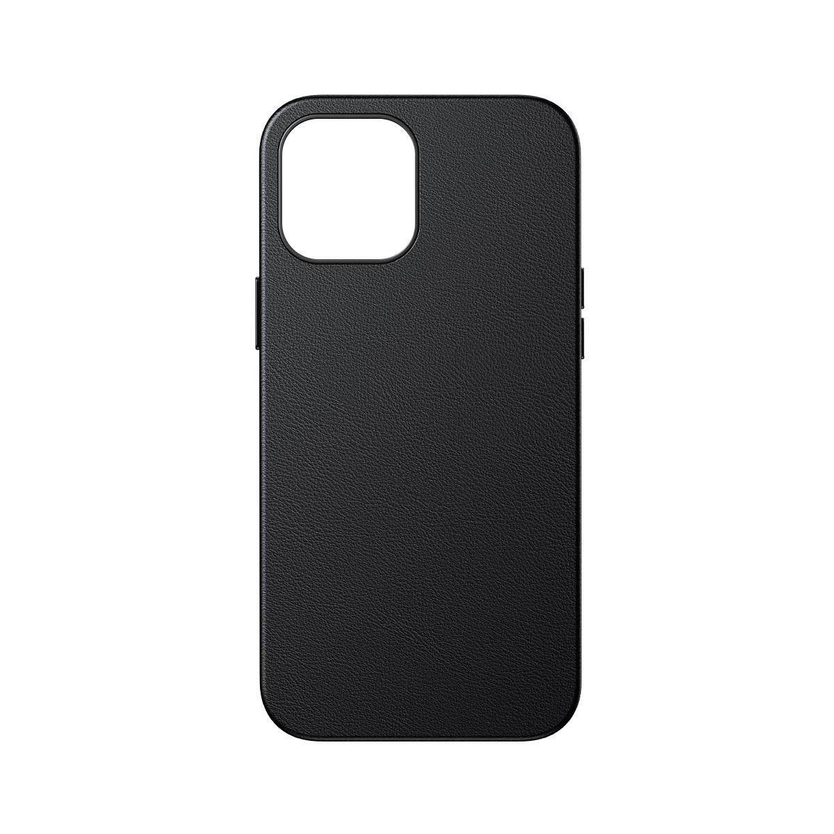 Baseus magnetisk läderskal till iPhone 12 Mini, svart
