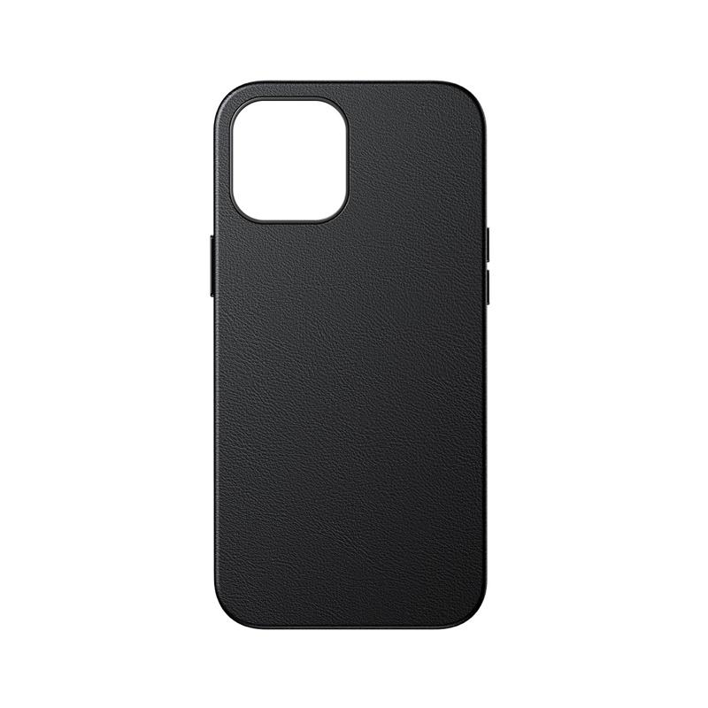 Baseus magnetisk läderskal till iPhone 12 Pro Max, svart