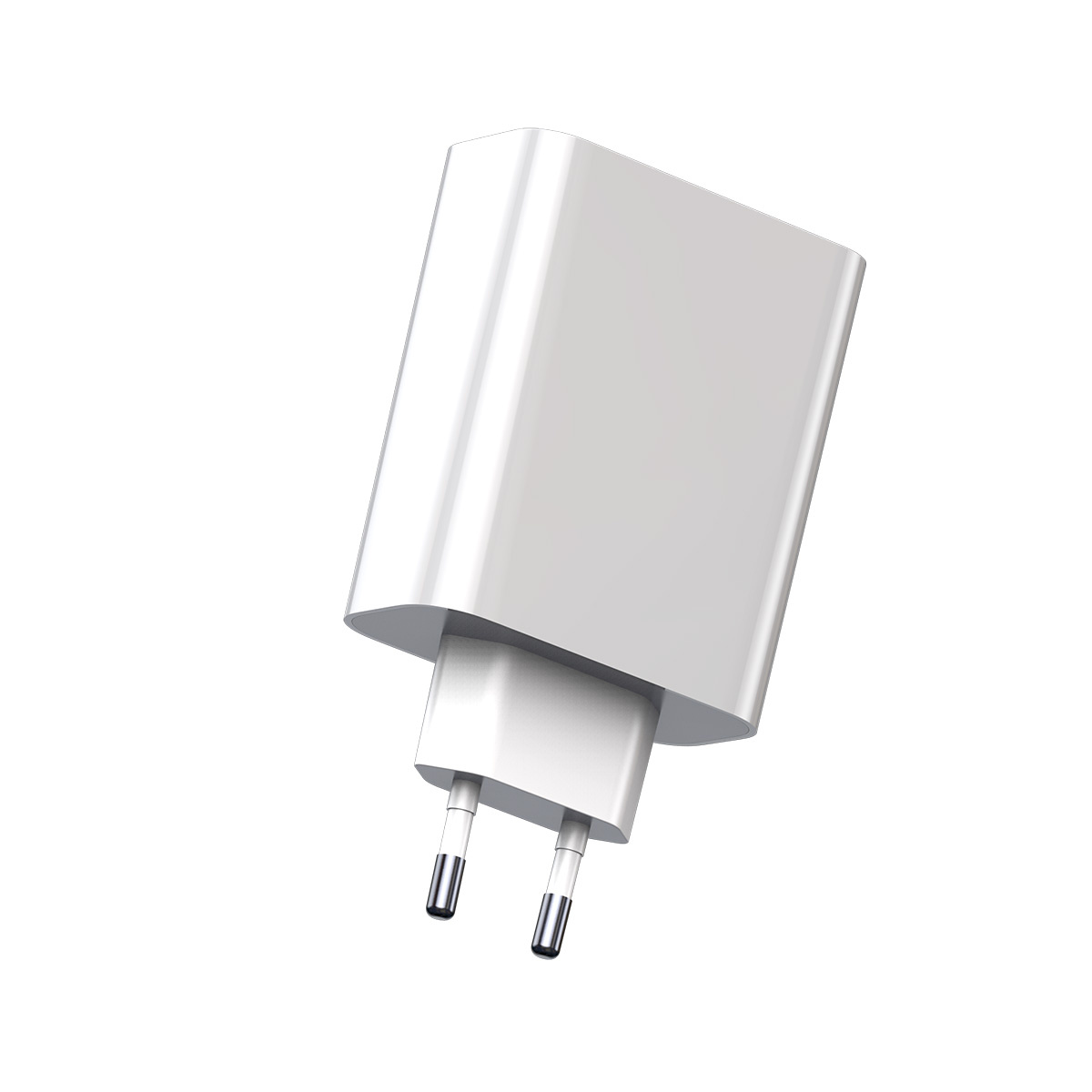 Baseus Speed PPS Laddare QC 3.0, Display, USB-C, USB-A, vit
