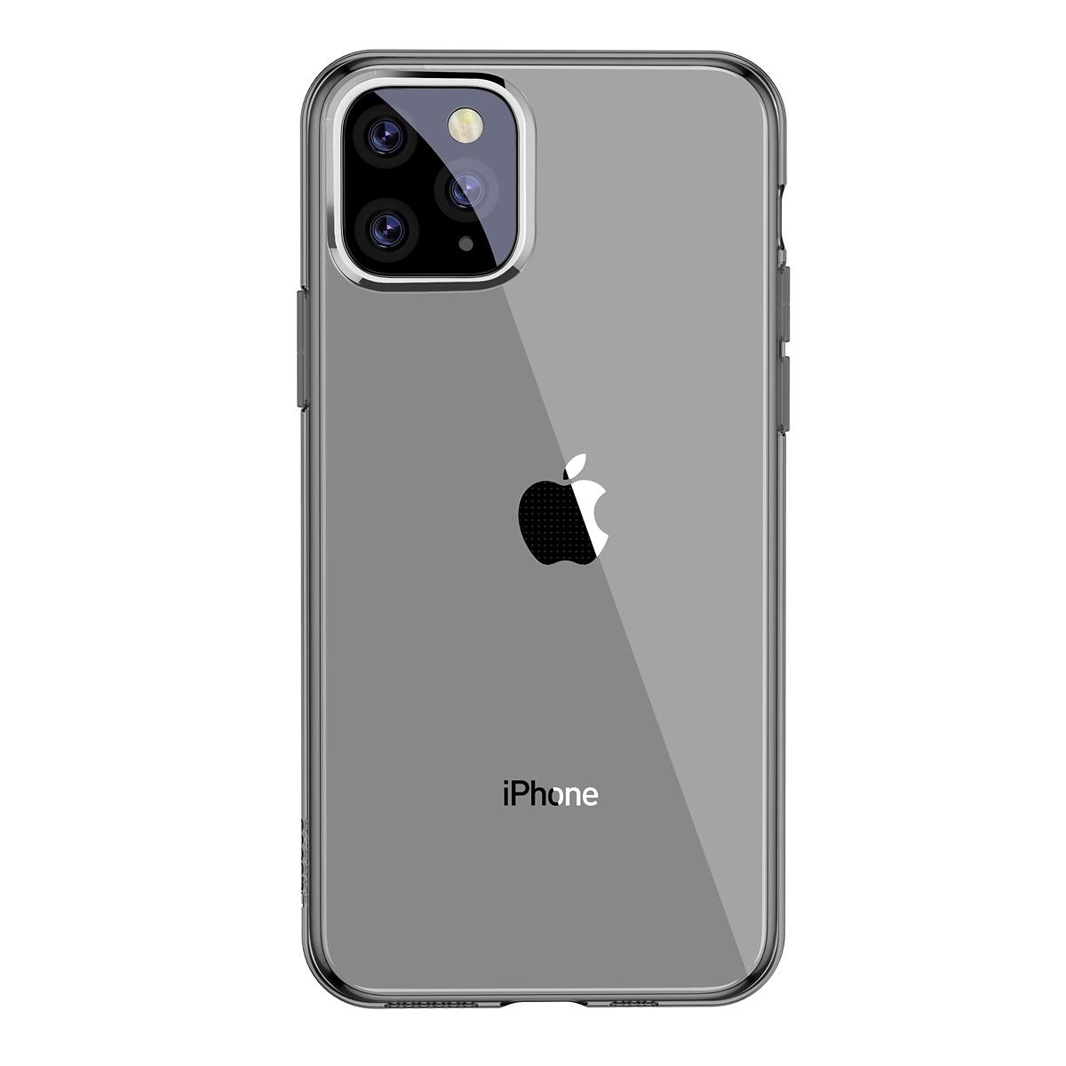 Baseus TPU-skal, iPhone 11 Pro Max, svart/transparent