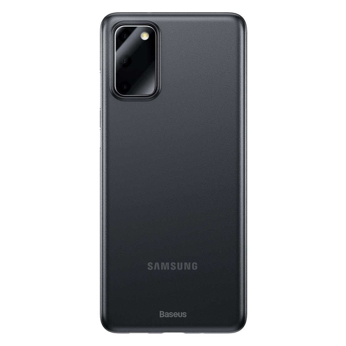 Baseus WISAS20-01 Skal för Samsung S20, svart