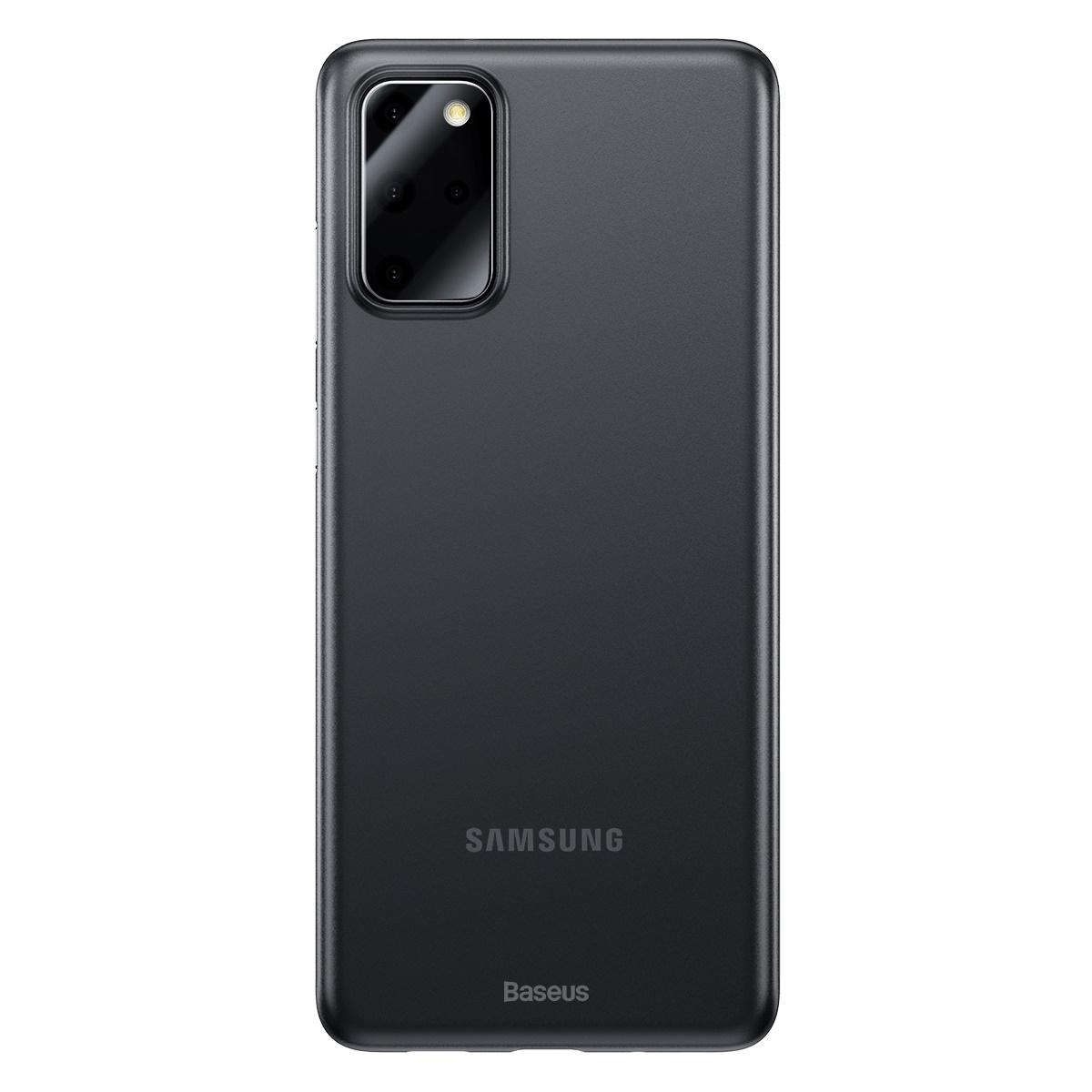 Baseus WISAS20-01 Skal för Samsung S20+, svart